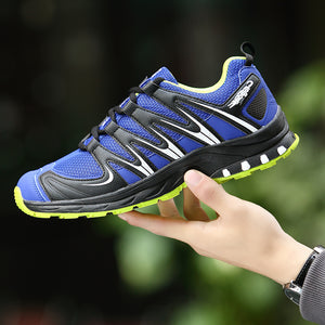 2017 Style Running Shoes For Men Outdoor Sneakers Mesh Breathable TPR Soles Athletic  Trainer Workout Hard 1d4fcf0278e6