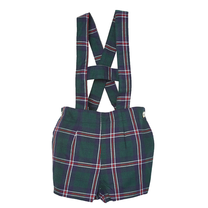 PLAID SALVIO DUNGAREES
