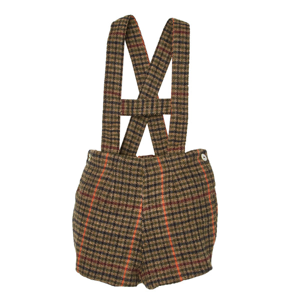 ZOILO TWEED DUNGAREES