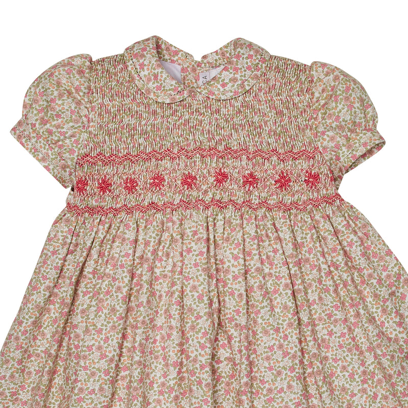 JACOBA HAND-SMOCKED DRESS