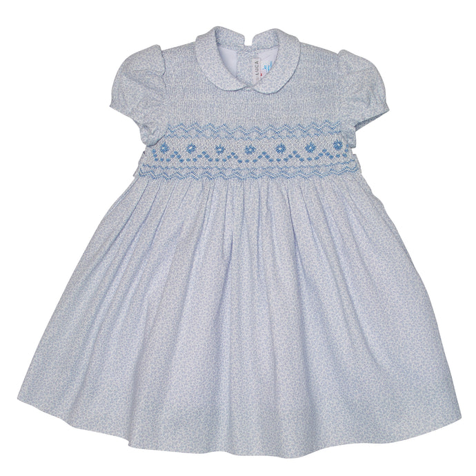 RUFINA HAND-SMOCKED DRESS
