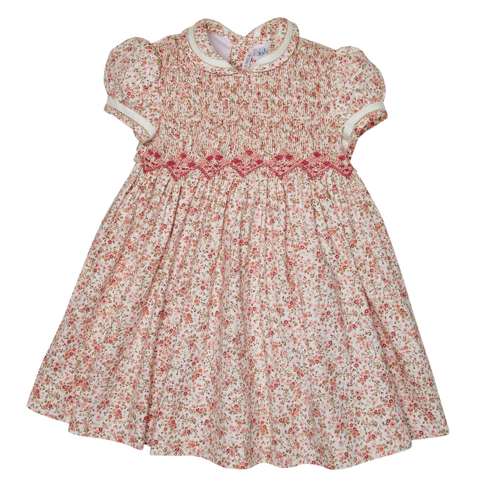 LAUREANA HAND-SMOCKED DRESS