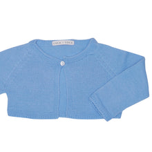 BABY BLUE KNITTED BOLERO