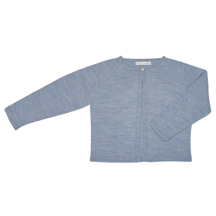PALE BLUE GOYA CARDIGAN