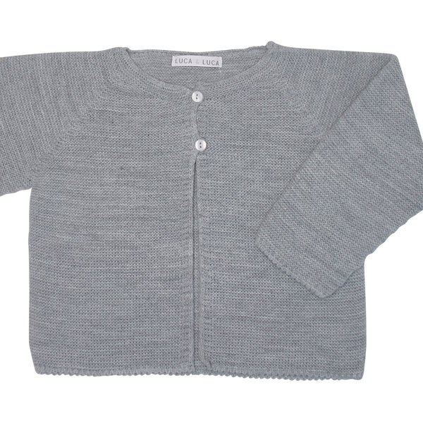 GREY LOZOYA CARDIGAN