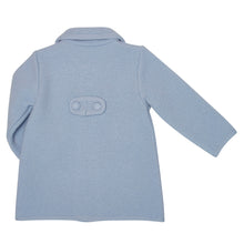BABY BLUE VERISIMA OVERCOAT