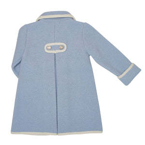 BABY BLUE ELISEO OVERCOAT