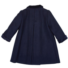 NAVY DRAYCOTT OVERCOAT