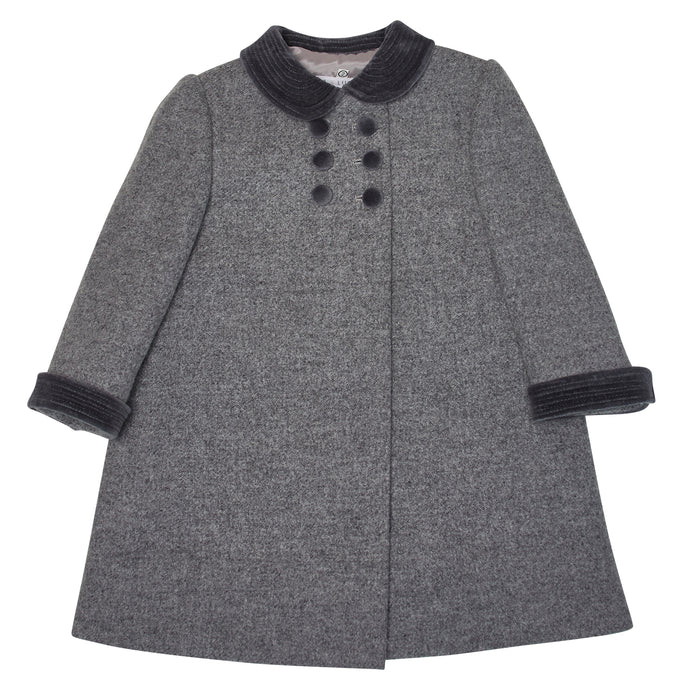GREY DRAYCOTT OVERCOAT