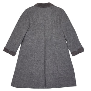 GREY HOLBEIN OVERCOAT