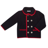 NAVY LIBERTO SHORT COAT
