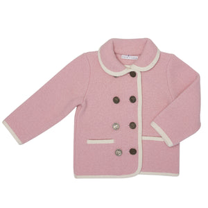 BABY PINK SANCIA SHORT COAT