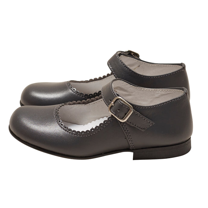 LUCA & LUCA grey mary janes shoes