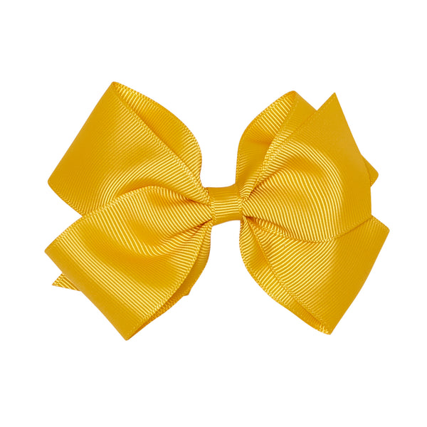 MUSTARD EXTRA LARGE BOW