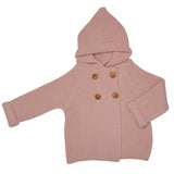 PINK FINISTERRE HOODED JACKET