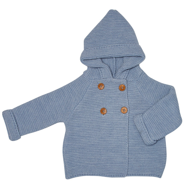 BLUE FINISTERRE HOODED JACKET