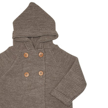 CHOCOLATE FINISTERRE HOODED JACKET
