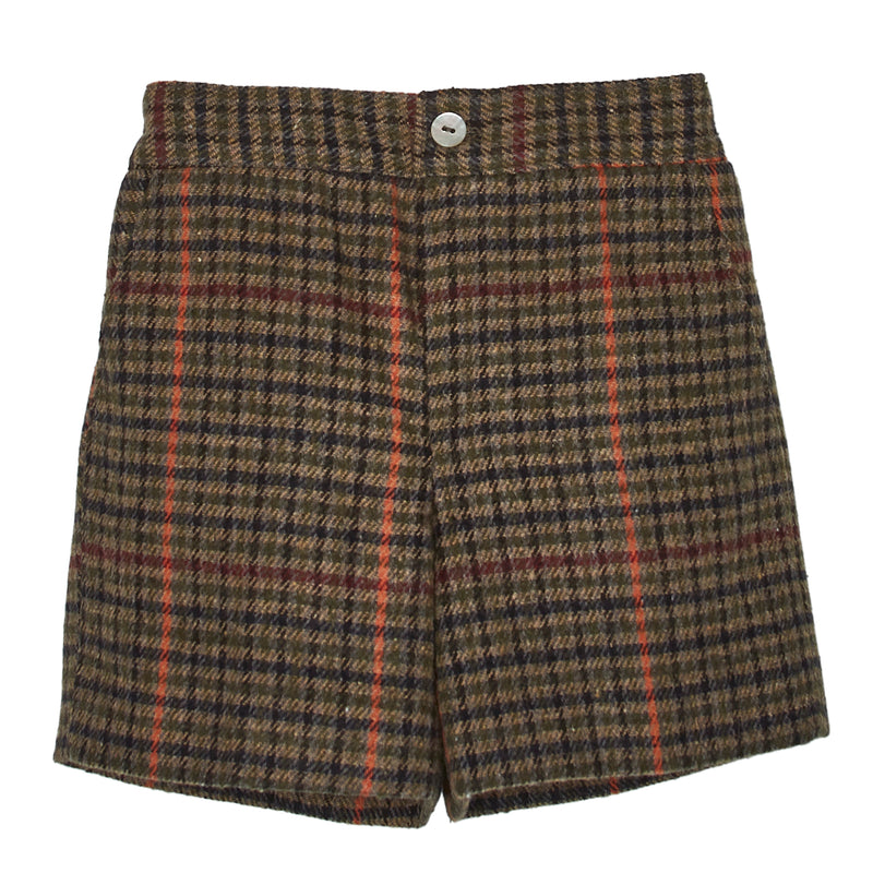 ZOILO TWEED SHORTS