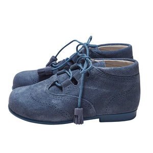 RUPERTO BABY BLUE SUEDE BOOTS