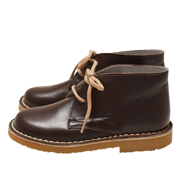 CHOCOLATE GUILLERMO DESERT BOOTS