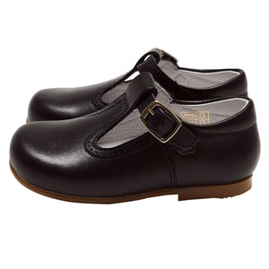 LUCA & LUCA dark navy t-bar shoes