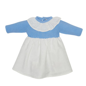 LUCA & LUCA Blue Dora dress front