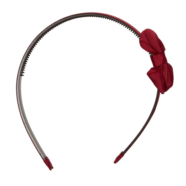 LUCA & LUCA medium bow comb hairband