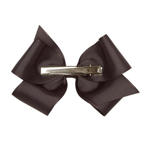 LUCA & LUCA dark grey extra large bow
