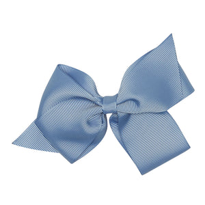 LUCA & LUCA dusty blue extra large bow