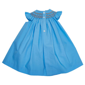 LUCA & LUCA Gal hand-smocked dress back