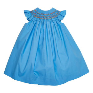 LUCA & LUCA Gal hand-smocked dress front