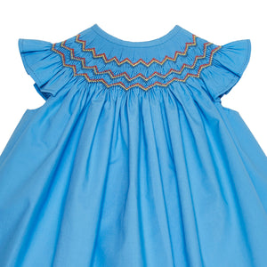 LUCA & LUCA Gal hand-smocked dress zoom