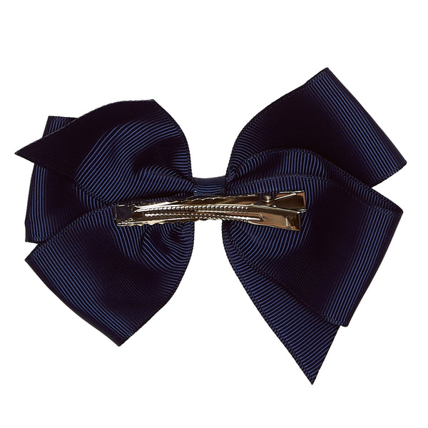 LUCA & LUCA childrenswear navy extra large bow