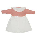 LUCA & LUCA Pink Dora dress back