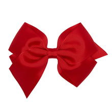 LUCA & LUCA childrenswear red extra large bow