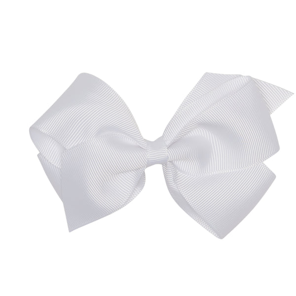 LUCA & LUCA childrenswear white extra large bow