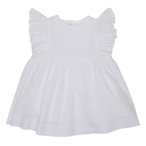 LUCA & LUCA white bow dress