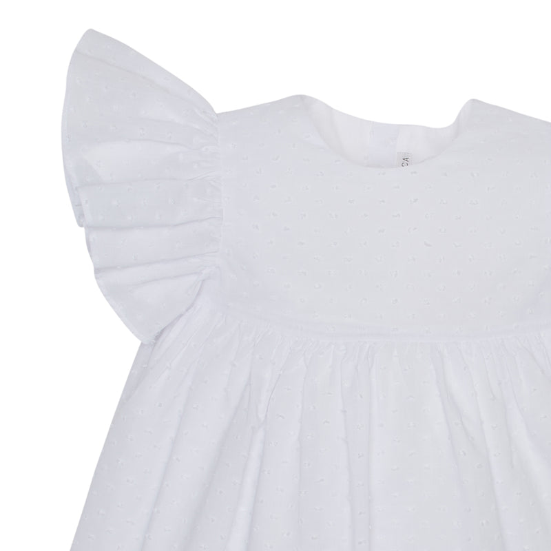 LUCA & LUCA white angel dress