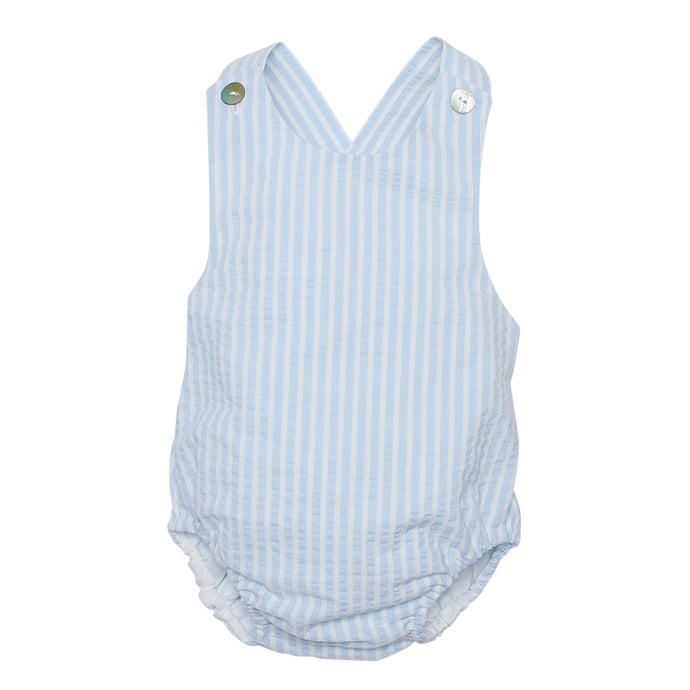 LUCA & LUCA striped romper