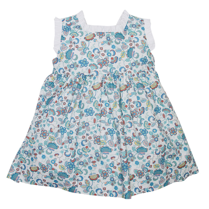 LUCA & LUCA floral dress with bow