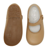 LUCA & LUCA camel Mary Janes shoes