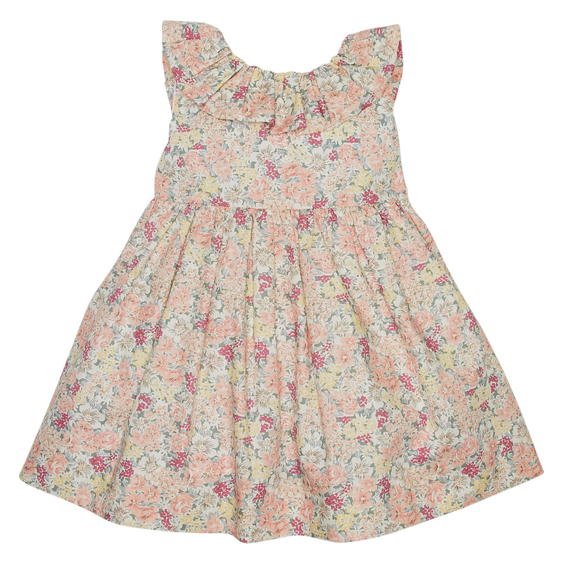 LUCA & LUCA pastel flowers dress