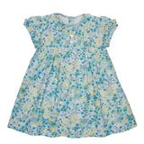LUCA & LUCA green floral dress