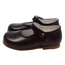 LUCA & LUCA navy Mary Janes shoes