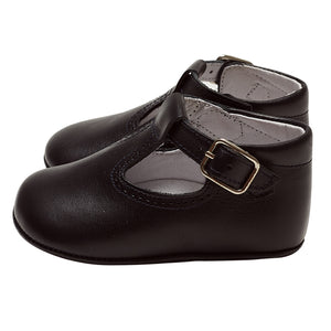 LUCA & LUCA navy t-bar pram shoes
