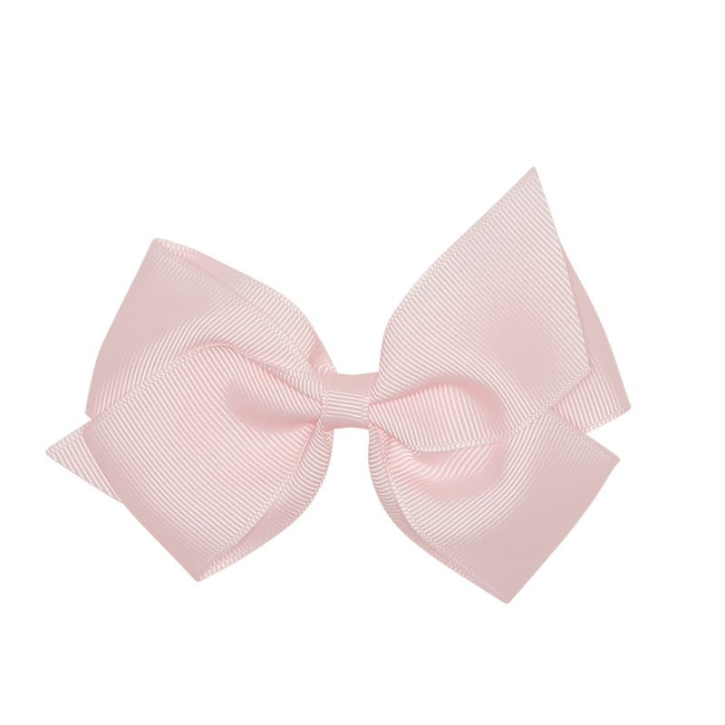 LUCA & LUCA childrenswear pale pink extra large bow
