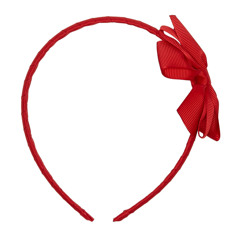 LUCA & LUCA large bow ribbon hairband