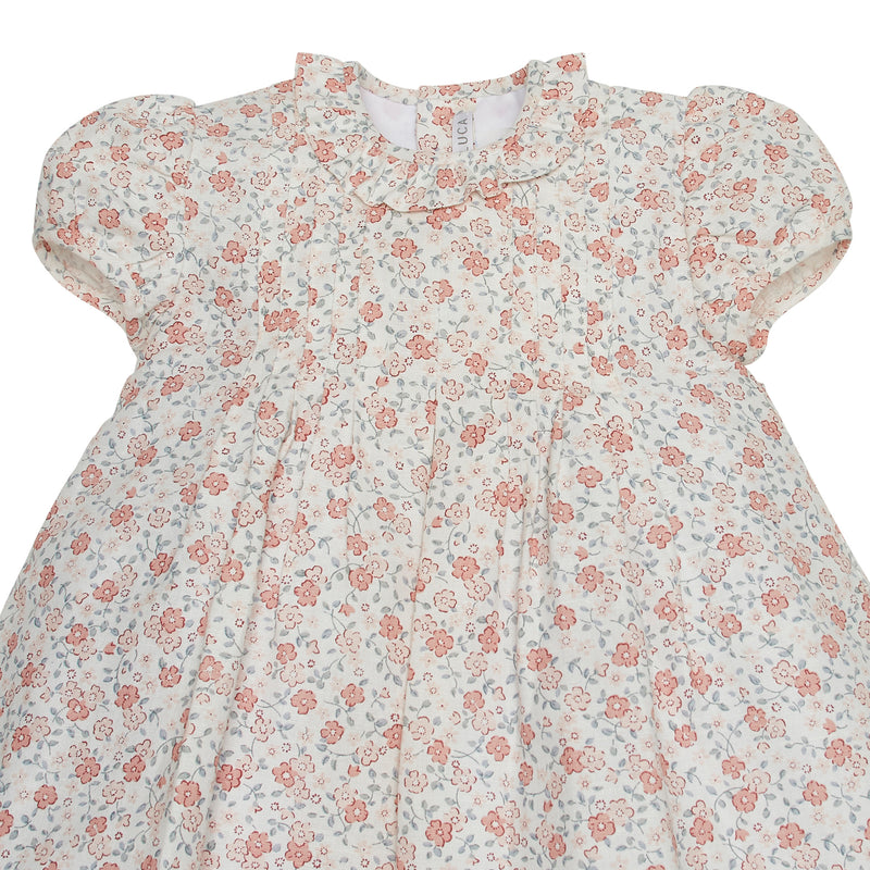 LUCA & LUCA pink flowers dress