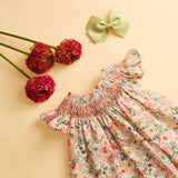 ZENONA HAND-SMOCKED DRESS