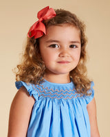 LUCA & LUCA girl smocked dress